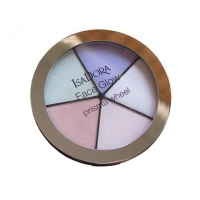 IsaDora Face Glow Prisma Wheel 50 Rainbow Highlights