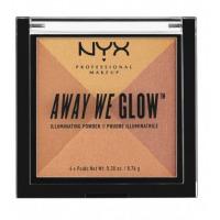 NYX  Away We Glow Illuminating Powder  Highlighter