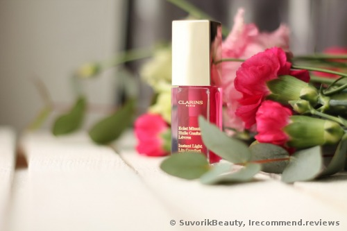 Clarins Minute Huile Instant Light Lip Comfort Oil