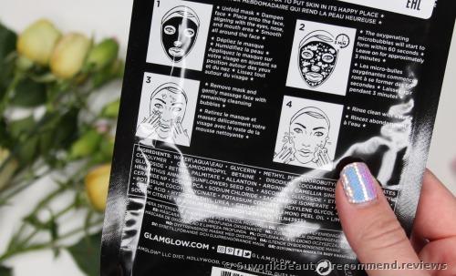 GLAMGLOW BUBBLESHEET™ Oxygenating Deep Cleanse Sheet Mask