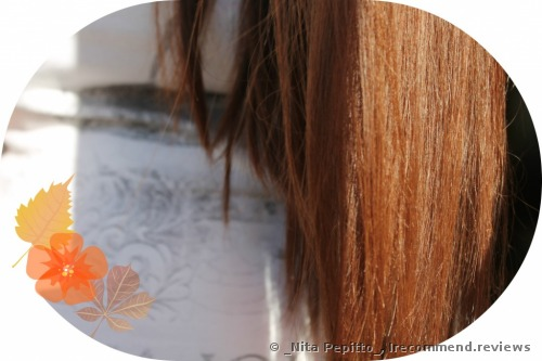 my hair after the oil application