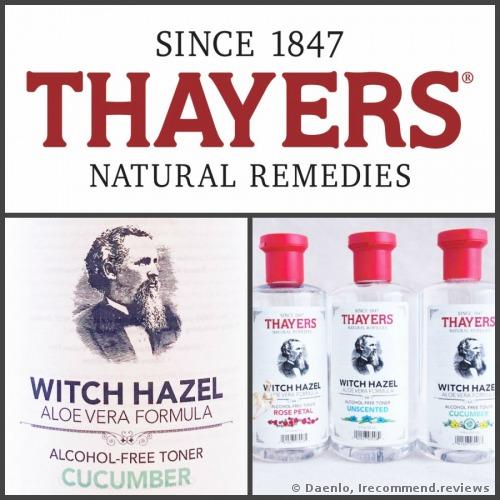 Thayers Cucumber Witch Hazel Aloe Vera Formula Toner