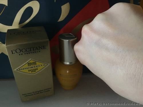 L'Occitane Anti-Aging Under Eye Cream For Fine Lines | Immortelle Divine Eyes |