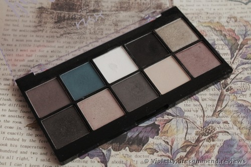 NYX Perfect Filter Eye Shadow Palette