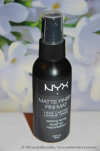 NYX Make Up Setting Spray, Matte Finish/Long Lasting