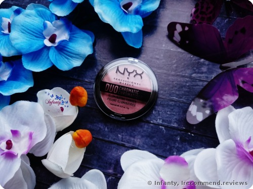 NYX Duo Chromatic Illuminating Powder Highlighter