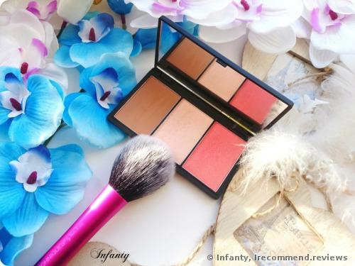 Sleek Face Form Contouring & Blush Palette