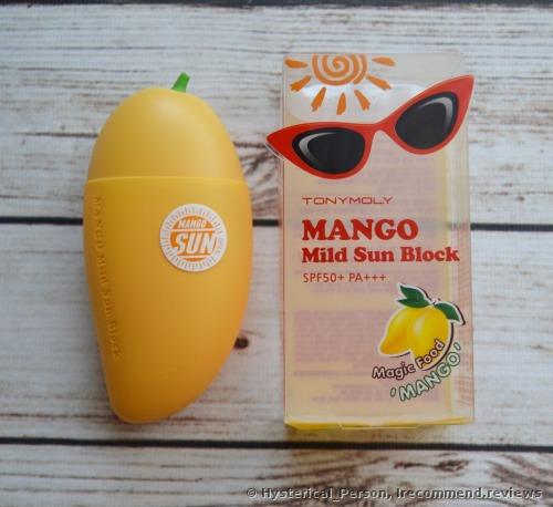 Tony Moly Magic Food Mango Mild Sun Block