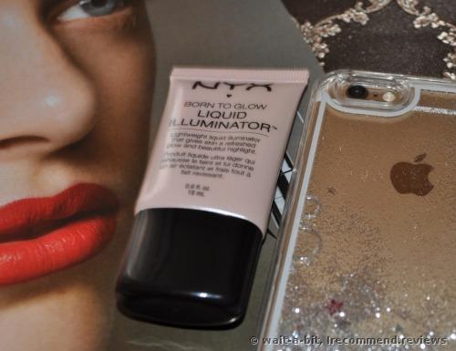 NYX Born to Glow Liquid Illuminator Highlighter