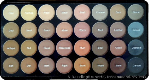 Makeup Revolution  Ultra 32 Shade Eyeshadow Palette - Flawless Eyeshadows