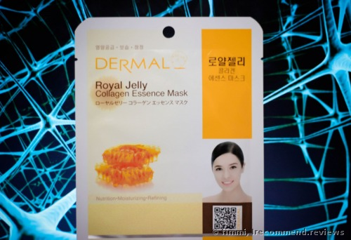 Dermal Royal Jelly Korea Collagen Essence  Facial Mask