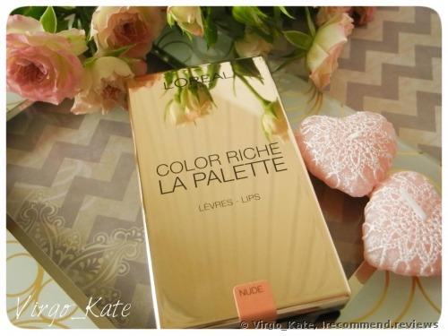 L'Oreal Paris Color Riche Lip Palette
