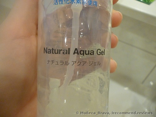 Cure  Natural Aqua Gel Facial Exfoliator