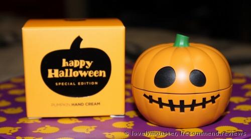 The Face Shop Halloween Pumpkin  Hand Cream