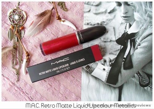 MAC RETRO MATTE LIQUID LIPCOLOUR METALLICS Lipstick