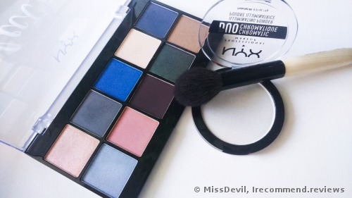 NYX Duo Chromatic Illuminating Powder Highlighter