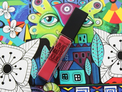 Maybelline Color Sensational Vivid Matte Liquid  Lipstick