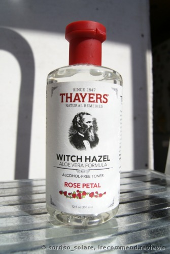 Thayers Alcohol-free Rose Petal Witch Hazel with Aloe Vera Toner