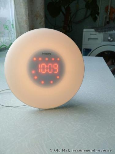 Philips Wake-Up Light with Radio