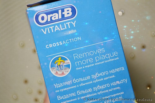 Oral-B Vitality Precision Clean / Cross Action Rechargeable Electric Toothbrush