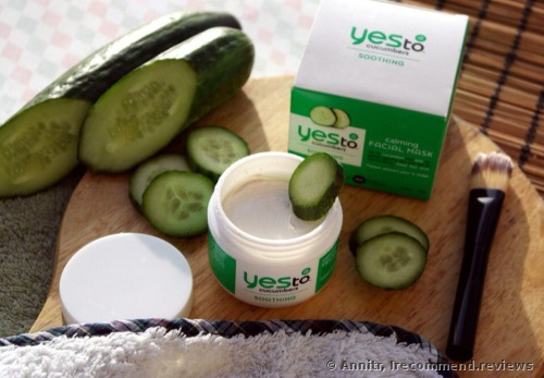 Yes To Cucumber Calm Care Soothing Facial Mask