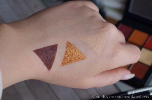 Huda Beauty Warm Brown Obsessions Eyeshadow Palette