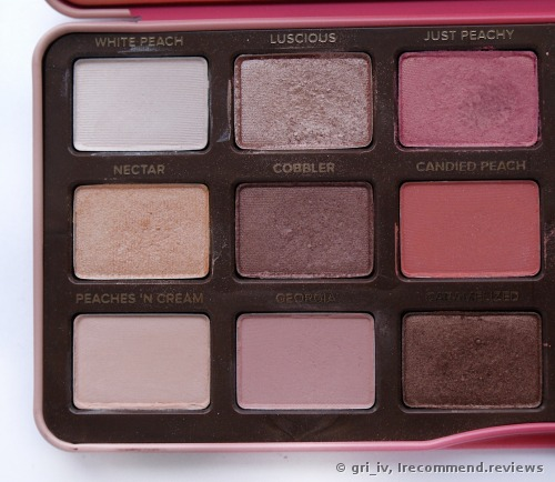 Too Faced Peach Eye Shadow Palette