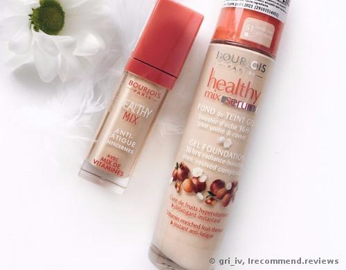 Bourjois Paris Healthy Mix Anti Fatigue Anticernes Concealer