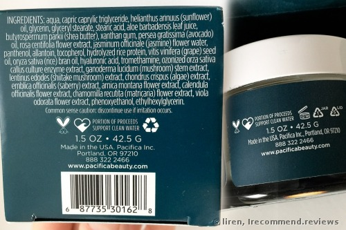 Pacifica Vital Immersion Deep Hydration Facial Mask
