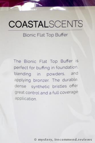 Coastal Scents Bionic Flat Top Buffer  Brush