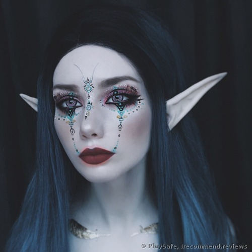 The Elf makeup for the NYX Team Light Competition which I actually won:)