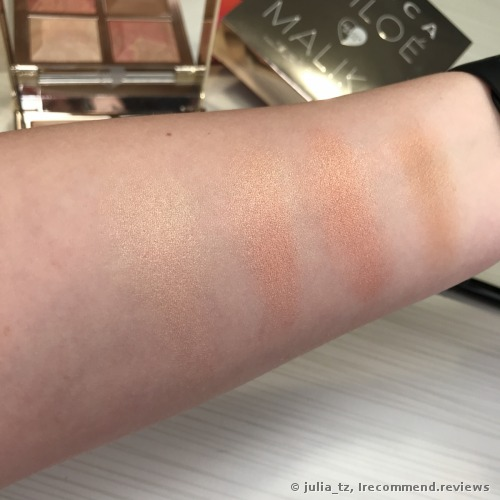 Becca Khloé Kardashian & Malika Haqq Bronze, Blush & Glow Palette