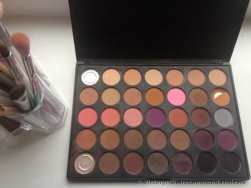 Morphe Pro 35 Color Eyeshadow Palette Matte 35N