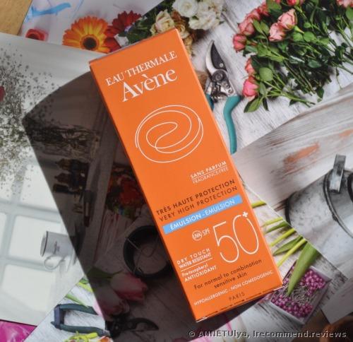 Avene Very High Protection Emulsion SPF50+ Sunscreen