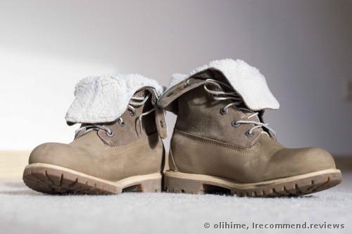 Timberland Teddy Fleece Waterproof Fold Down WP Ankle Boot