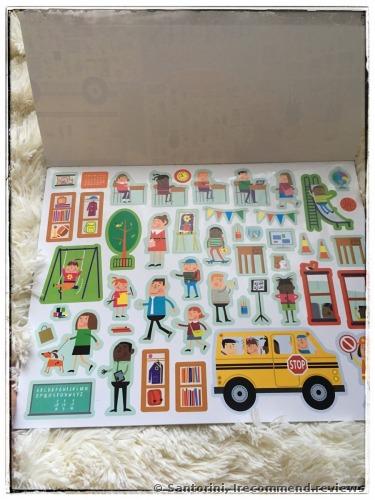 Melissa & Doug Reusable Sticker Pad: My Town Kids' Stickers