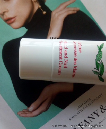 Clarins  Creme Jeunesse des Mains Oranger Hand and Nail Treatment Cream