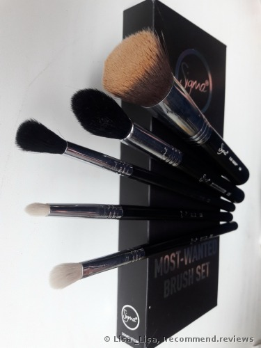 Sigma Most-Wanted Brush Set