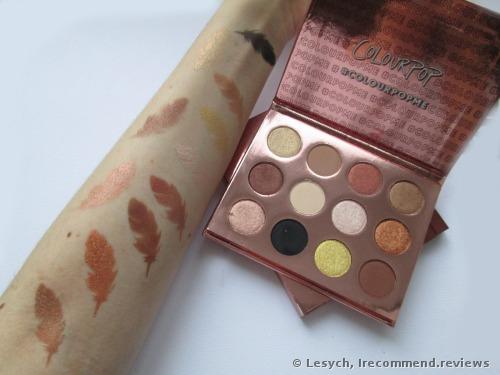 ColourPop I think I love you Eye Shadow Palette