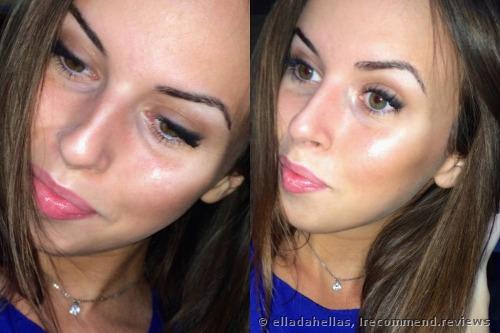 my makeup. Flashlight