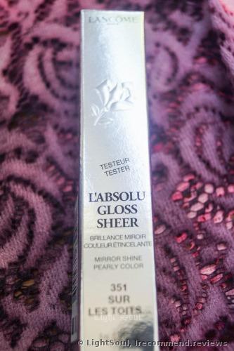 Lancome L`Absolu Lip Gloss