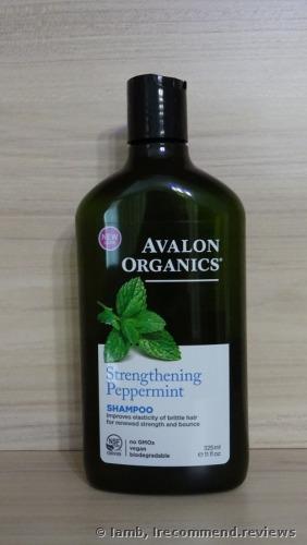 Avalon Organics Strengthening Peppermint Shampoo