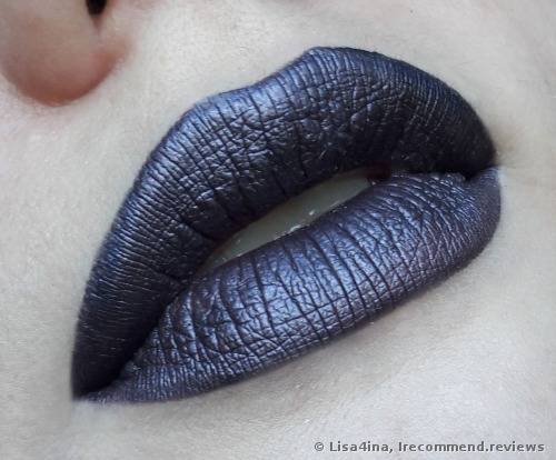 Sleek MakeUp Matte Me Metallic Lipstick