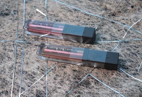 Sleek MakeUp Matte Me Metallic Lipstick
