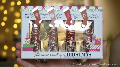 Too Faced The Sweet Smell Of Christmas. Christmas Treats Liquified Lipstick Set