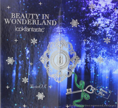 LOOKFANTASTIC ADVENT CALENDAR 2017  Beauty Box
