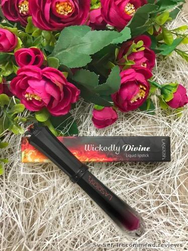 LA Splash Cosmetics Wickedly Divine Liquid-to-Matte Lipstick