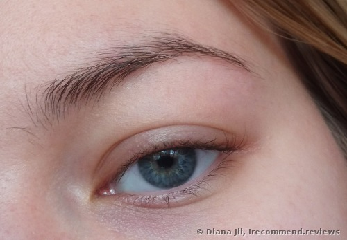 Bare eyebrows