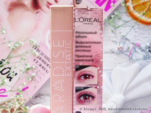 L'Oreal Paris Mascara Paradise Extatic review