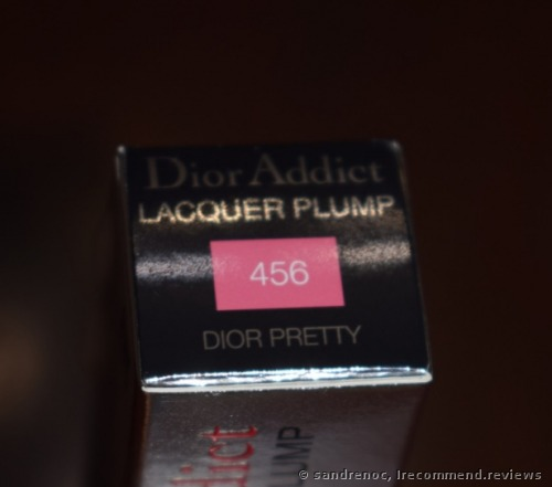 Dior Addict Lacquer Plump Lacquered Lip ink